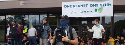 Au Camp Climat, nous avons assisté à une simulation de désobéissance civile