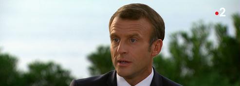 Ce qu'il faut retenir de l'entretien post-G7 d'Emmanuel Macron