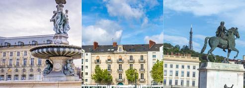 Immobilier: les prix ont flambé à Bordeaux, Nantes et Lyon en un an
