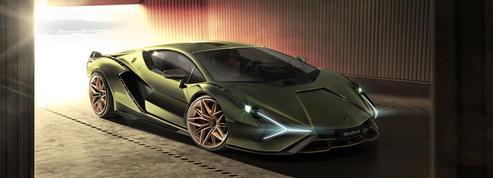 Lamborghini Sián, un supercar hybride
