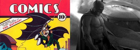Pour les 80 ans de Batman, le «Bat-signal» projeté sur les Champs-Élysées