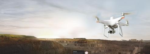 Drones: le français Delair signe un partenariat avec DJI