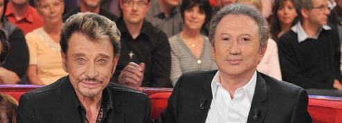 «Je ne me suis pas vu vieillir»: Michel Drucker dévoile le dernier SMS de Johnny Hallyday