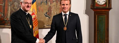 En Andorre, le co-prince Macron savoure