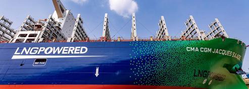 CMA CGM mise sur le gaz naturel liquéfié pour verdir sa flotte