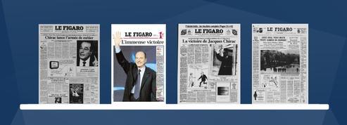 Jacques Chirac: les unes historiques du Figaro