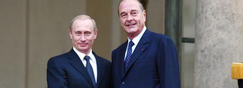L'hommage de Poutine à Jacques Chirac, le plus russophile des présidents