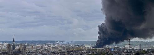 Des questions majeures sur la qualité de l'air après l'incendie à Rouen