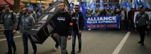 À Paris, le «cri d'alarme» de milliers de policiers en colère