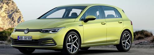 Volkswagen Golf 8, la techno parade