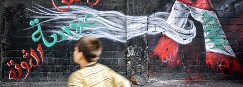 Crise au Liban: les murs de la «révolution»