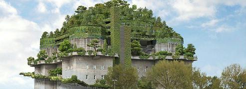 Ce bunker de l'époque nazie va être végétalisé pour devenir un hôtel cosy