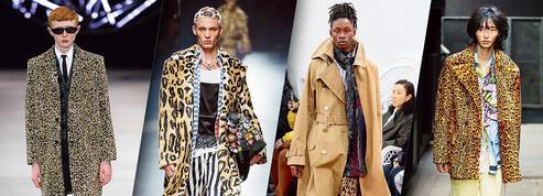 Les hommes porteront-ils du léopard cet hiver?