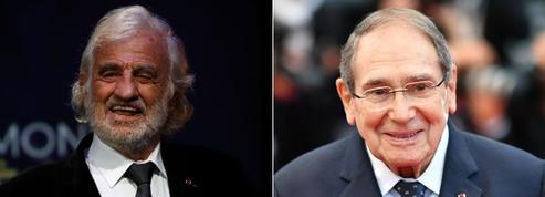 Jean-Paul Belmondo et Robert Hossein élevés à la dignité de grand officier par Emmanuel Macron