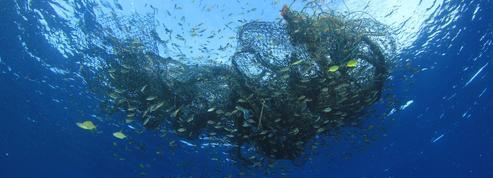 L'industrie de la pêche laisse sous l'eau 640.000 tonnes de matériel par an