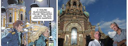 À Saint-Pétersbourg, sur les traces de Largo Winch