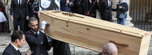 À Saint-Eustache, où elle aimait prier, l'hommage plein de dignité à Marie Laforêt