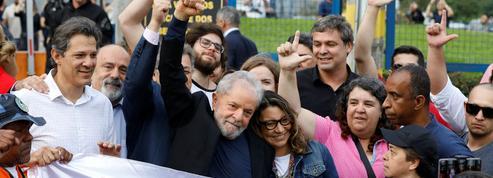 Brésil: Lula est sorti de prison
