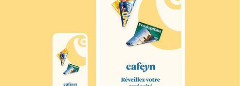 L'abonnement illimité à la presse LeKiosk se renomme Cafeyn