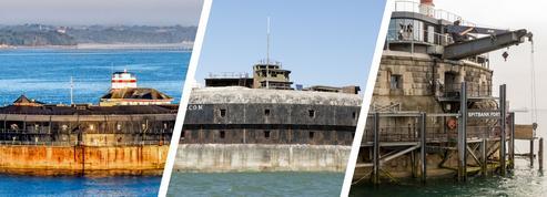 Ces trois Fort Boyard anglais sont à vendre pour 10 millions d'euros