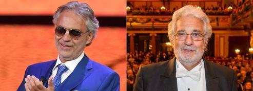 Andrea Bocelli vole au secours de Placido Domingo, accusé de harcèlement
