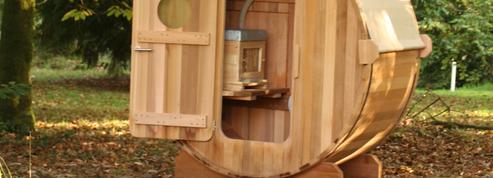 L'apithérapie: être assis face à une baie vitrée donnant sur une ruche de 65.000abeilles
