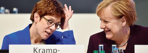 Allemagne: au congrès de la CDU, AKK défie ses adversaires et sort renforcée