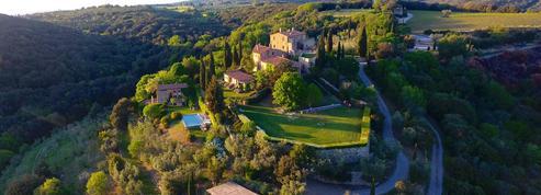 Escapade italienne: un château en Toscane