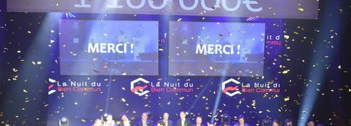 Nuit du Bien Commun: plus d'un million d'euros levés pour la troisième édition