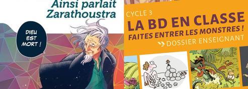 La bande dessinée se fait une place dans les cartables des écoliers