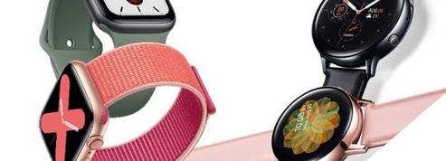 Apple Watch et Samsung Galaxy Watch Active 2 : à chacune ses atouts