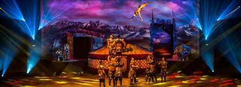 Cirque: la Mongolie sur un plateau