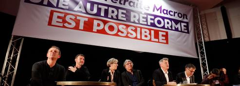 Réforme des retraites: la gauche unie contre le gouvernement à Saint-Denis