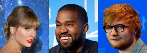 Taylor Swift, Kanye West, Ed Sheeran... Qui sont les chanteurs les mieux payés de 2019?