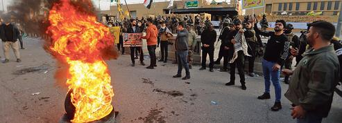 Irak: des miliciens pro-iraniens manifestent contre l'ambassade américaine à Bagdad
