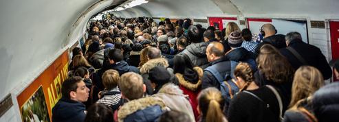 Grève SNCF-RATP: les prévisions de trafic pour le vendredi 3 janvier