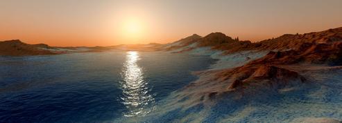 Quand l'eau ruisselait à la surface de Mars