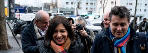 Municipales à Paris: les 24 premières heures de campagne d'Anne Hidalgo
