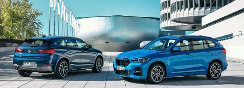 BMW X1 et X2 xDrive25e, des SUV branchés à la prise