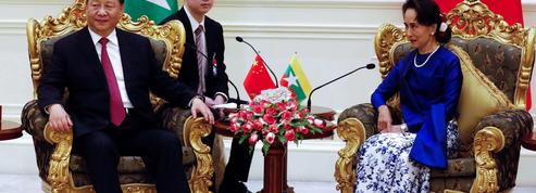 Xi Jinping trace sa «route de la soie» en Birmanie