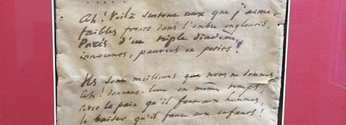 Un poème manuscrit de Victor Hugo refait surface au collège Victor-Hugo de Besançon