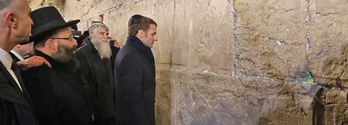 Dans la vieille ville de Jérusalem, le «grand chelem» d'Emmanuel Macron