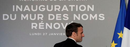 Macron: «La Shoah ne doit pas cicatriser»