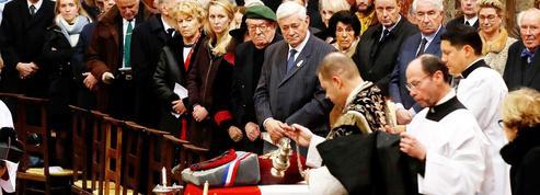 Anciens combattants et vétérans du FN réunis aux obsèques de Roger Holeindre