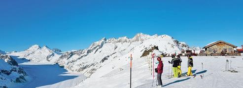 Aletsch Arena: plein la vue sur le plus grand glacier des Alpes