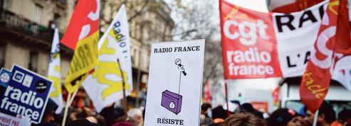 La loi audiovisuelle pourrait limiter le droit de grève à Radio France