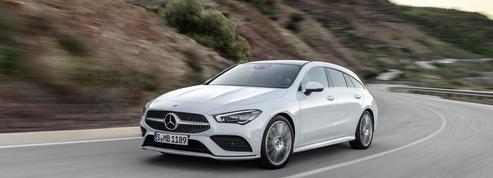 Mercedes CLA Shooting Brake, un break à couper le souffle