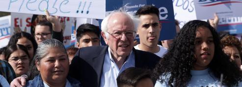 Primaires démocrates: Bernie Sanders peine à courtiser un électorat diversifié