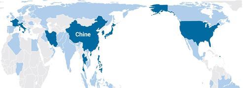 Coronavirus: nombre de cas, mortalité... Le point sur l'épidémie, pays par pays