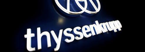 ThyssenKrupp sort de l'ascenseur pour 17milliards d'euros
